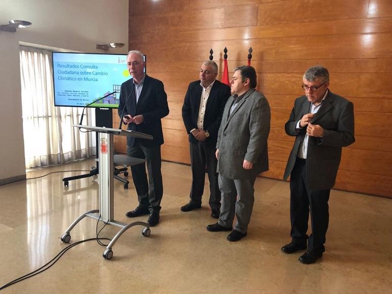 Los murcianos señalan el cambio climático como el segundo problema más importante al que se enfrenta el mundo