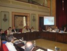 Imagen de la presentación del PMUS en el Ayuntamiento.