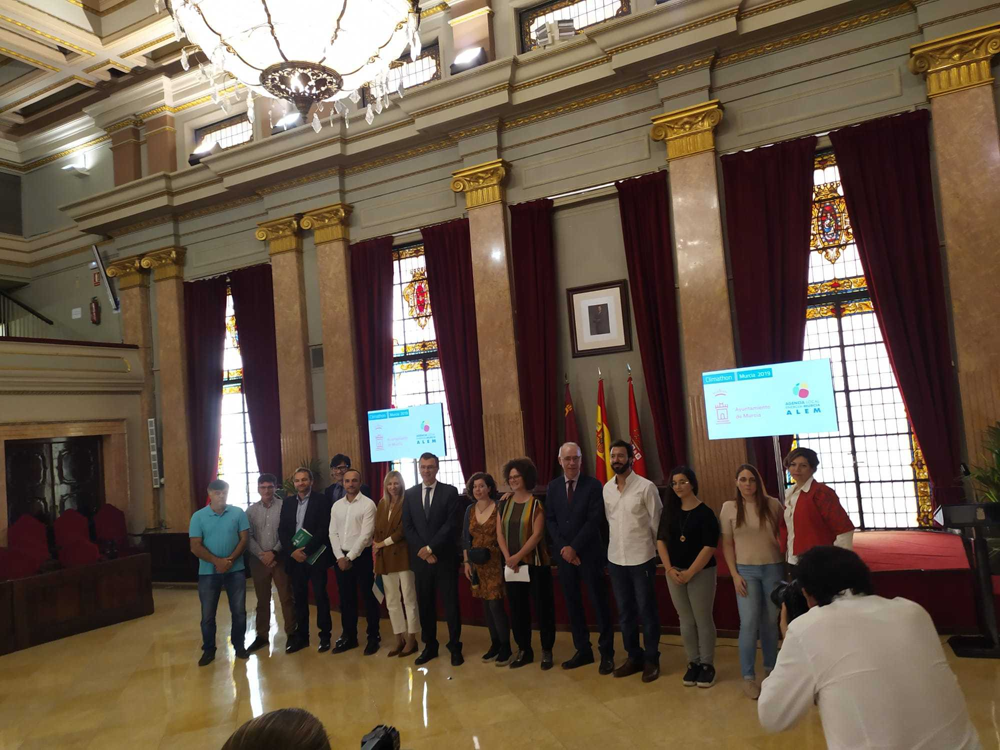 Climathon 2019 Murcia, presentacion proyectos ganadores.