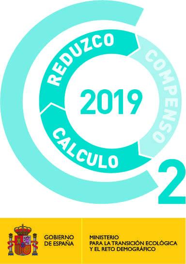 Calculo Huella de Carbono con sello REDUZCO 2019 y 2018