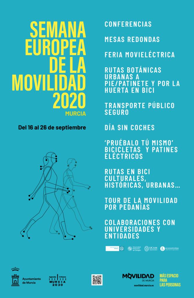 Hoy inicia la XX edición de la Semana Europea de la Movilidad.