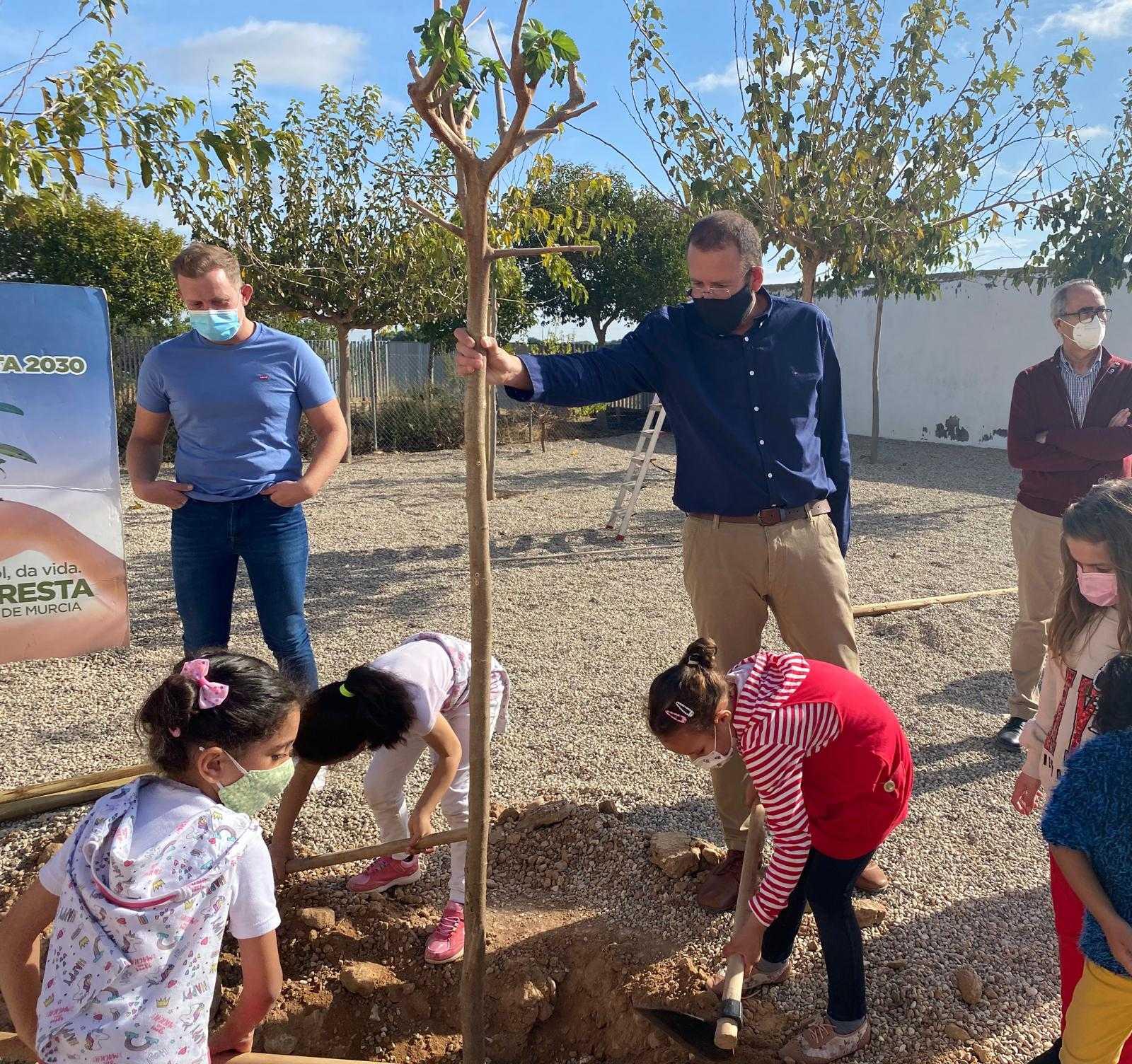 El Plan Foresta llega a todos los colegios de las pedanías del municipio