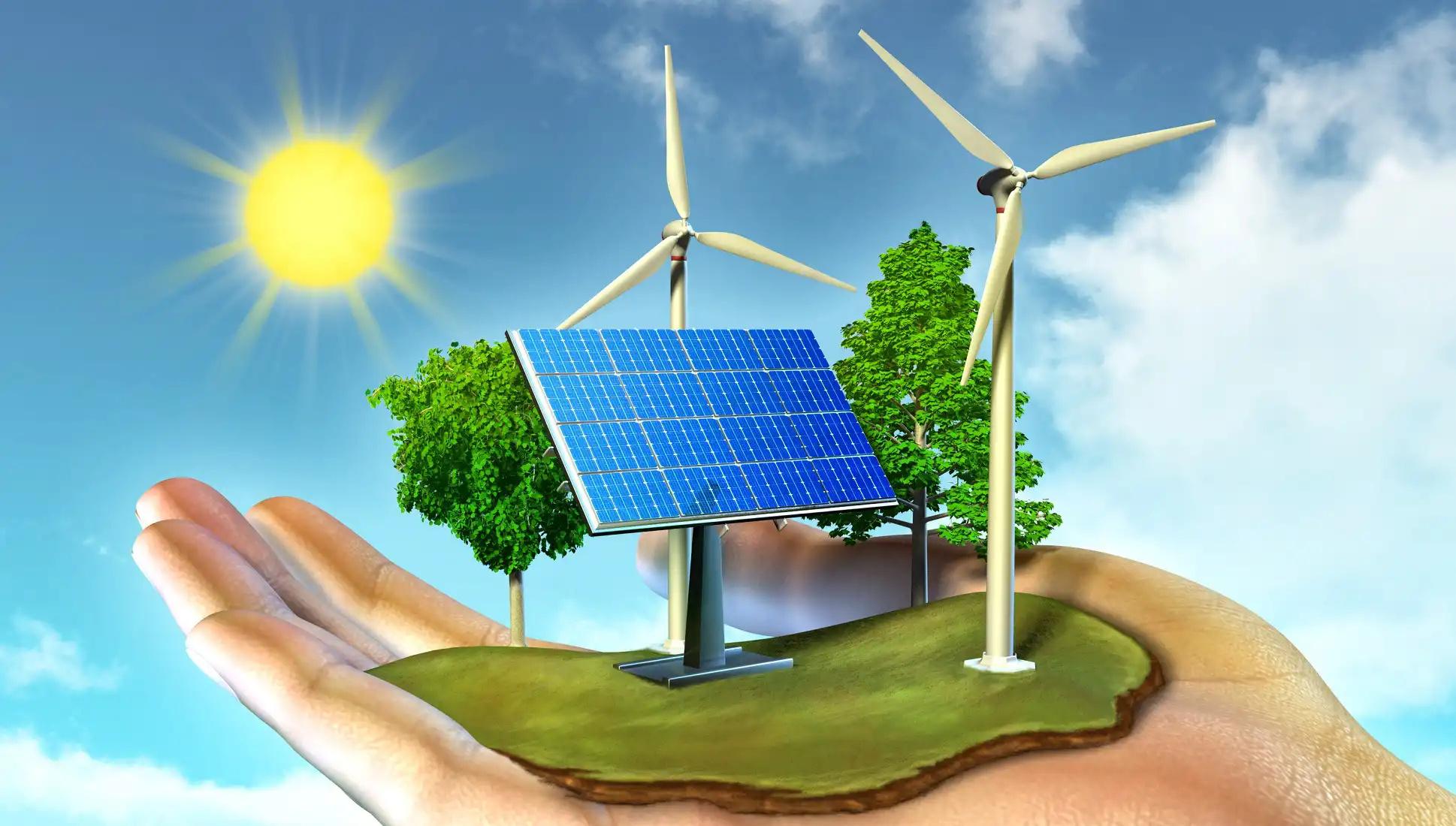 Año récord producción renovables mas del 43% de la demanda nacional en lo que va del año
