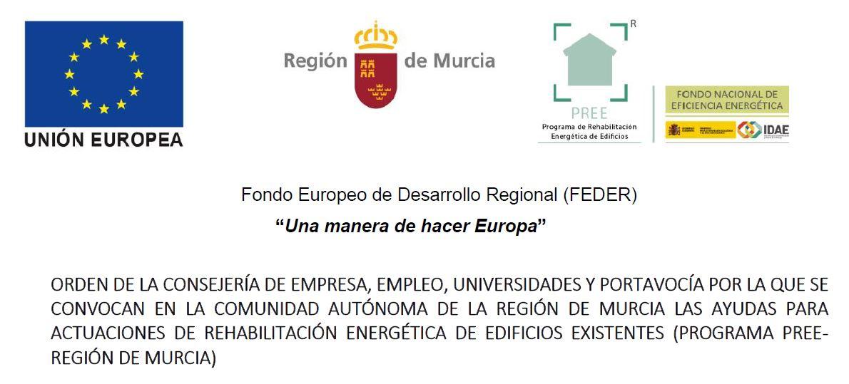 Ayudas para actuaciones de rehabilitación energética de edificios (PROGRAMA PREE)