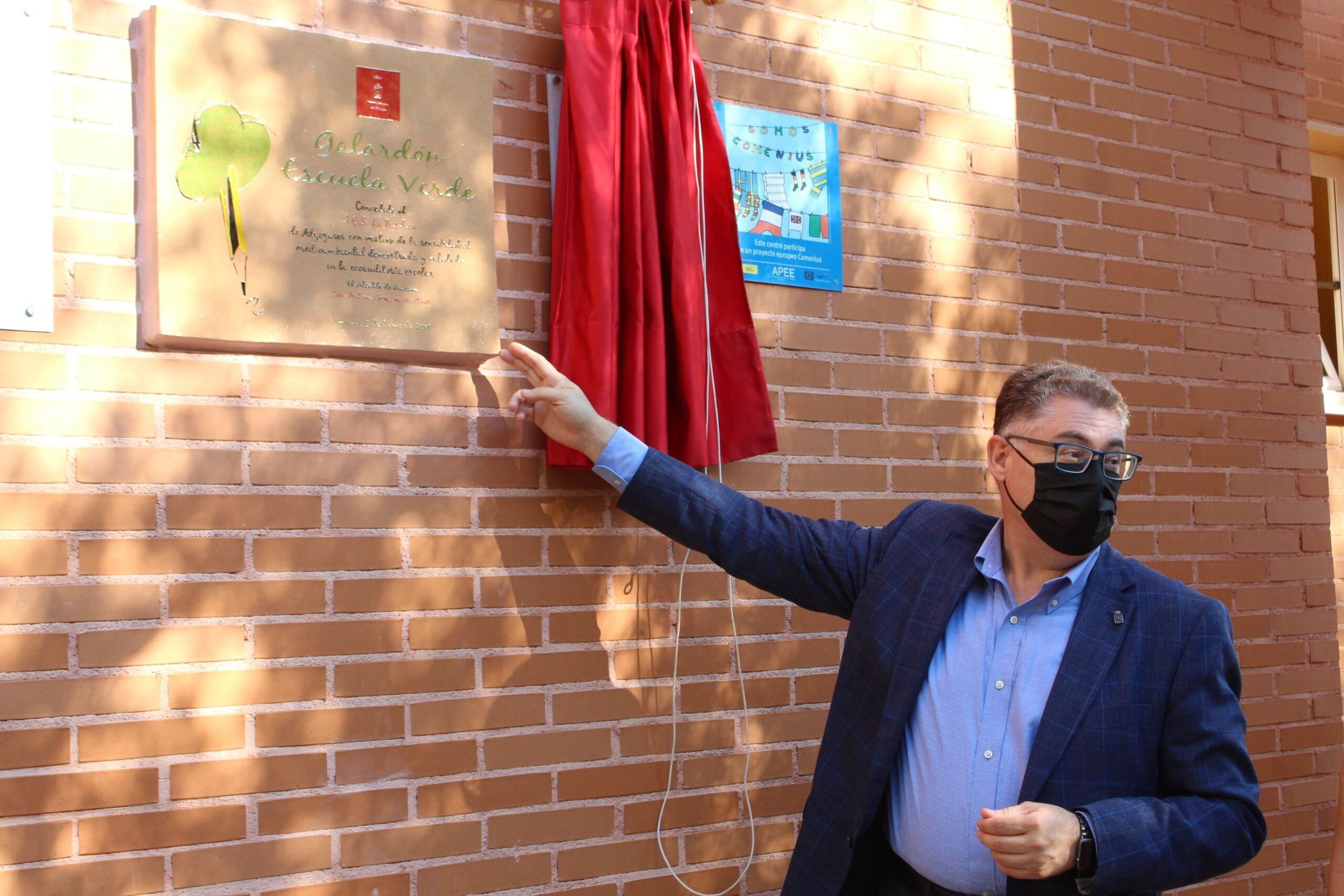 El Instituto de Educación Secundaria La Basílica, de Algezares, premiado por su proyecto de gestión medioambiental